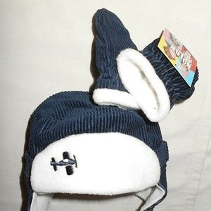 Vintage Cute Comfortable Winter Hat Mittens Set